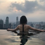 [Singapore] The infinity pool, the marina bay night and the gym experience – Marina Bay Sands